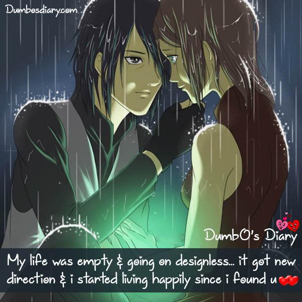 my life was empty without u