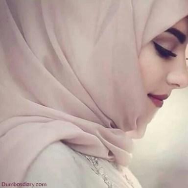 pretty hijabi muslim girl dp