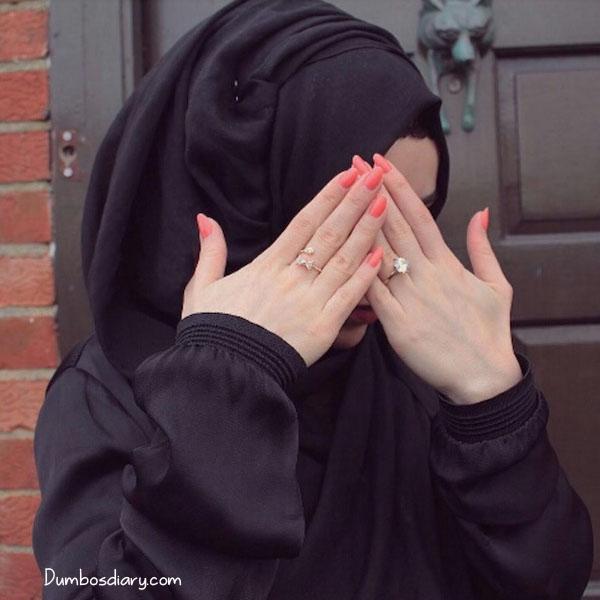 Hidden face dp