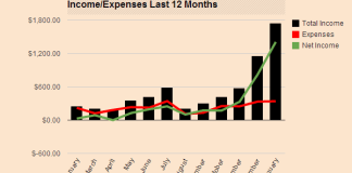My Income and Expenses January 2014