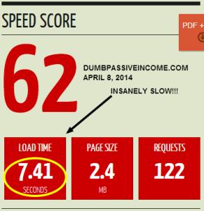 Page Load Speed for DPI on Shared Hosting at HostGator