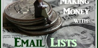 Making Money with Email Lists