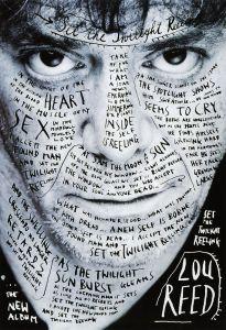 Stefan Sagmeister Lou Reed Album Poster Design
