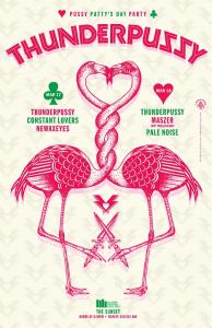 Shogo Ota poster design for Thunderpussy