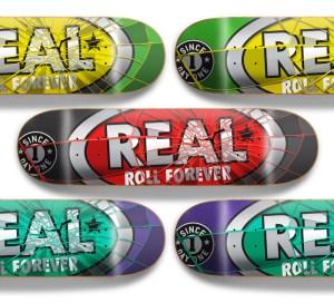 Real Skateboards Design by Kendrick Kidd