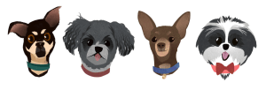 Dog Avatars Designed by Syd Weiler