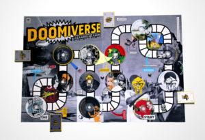 Board game design for rapper, MF Doom