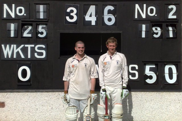 Nunholm's Rennie and Johnston batting record