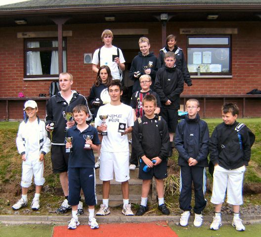 2009 Tennis Dumfries & Galloway Junior Champions