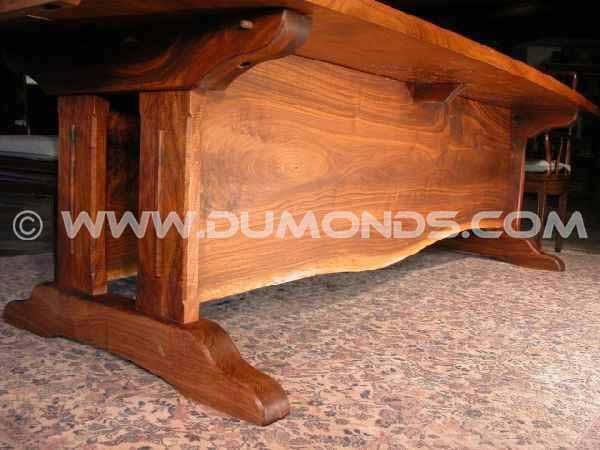wood table bases custom table bases