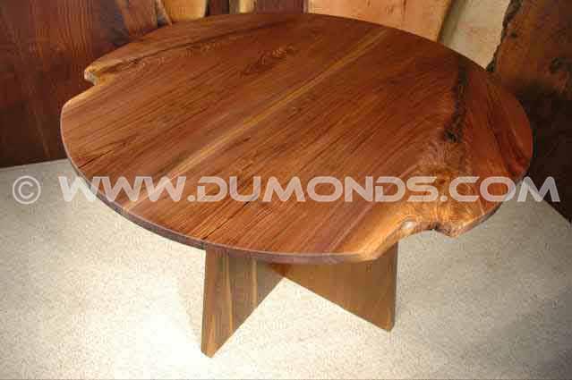 wood slab dining tables dumond s