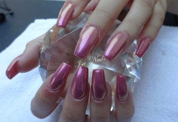Uñas Unicornio Isa Nails
