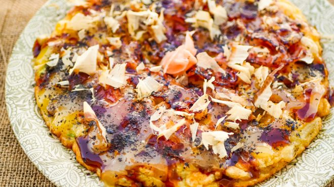 Osaka-Style Okonomiyaki - Recette japonaise