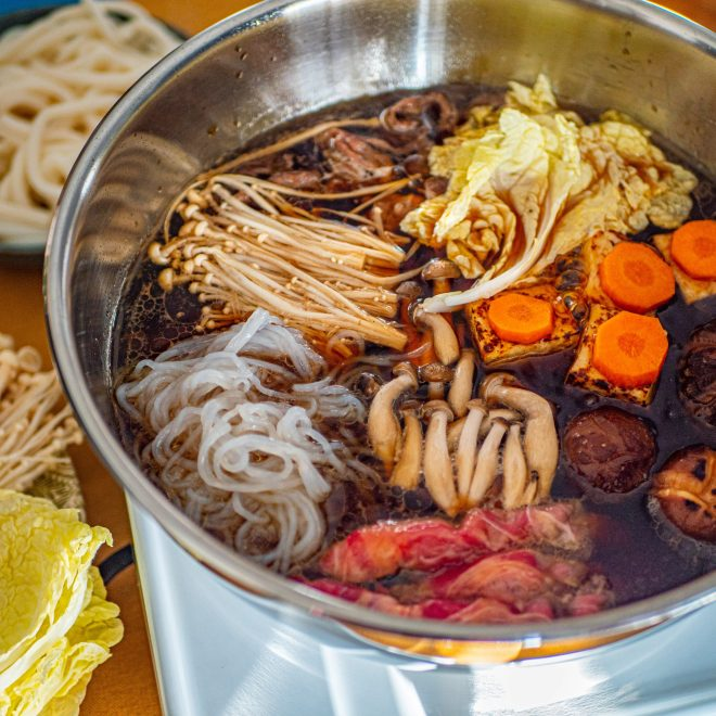 Sukiyaki - Fondue Japonaise