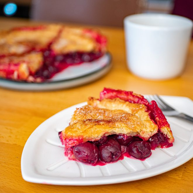 Double crust cherry pie – Twin peaks