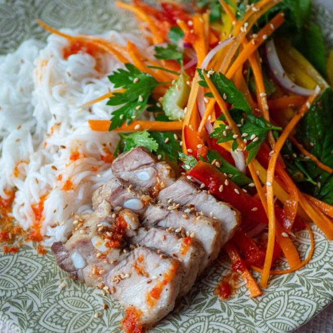 Yum sen lon - Salade de nouilles laosienne