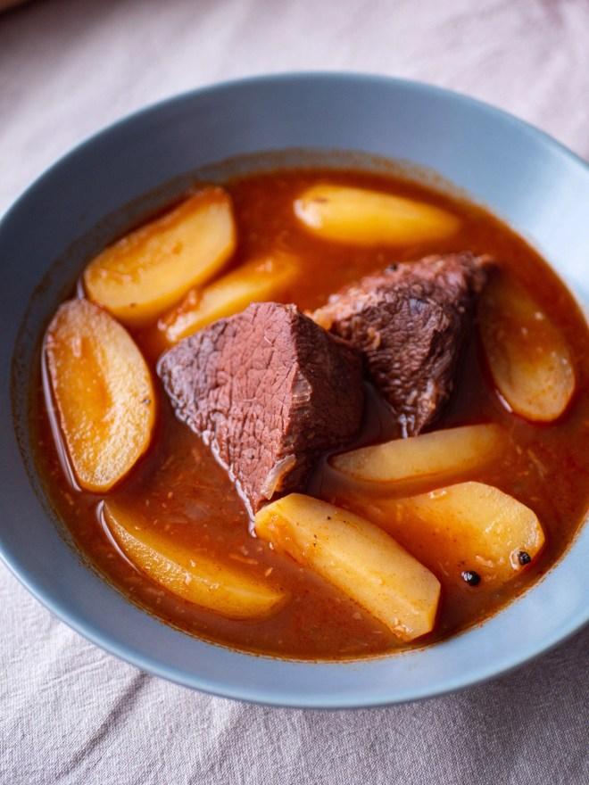 Molha de carne - ragoût de boeuf