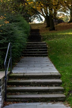 Treppe zum Balkoon