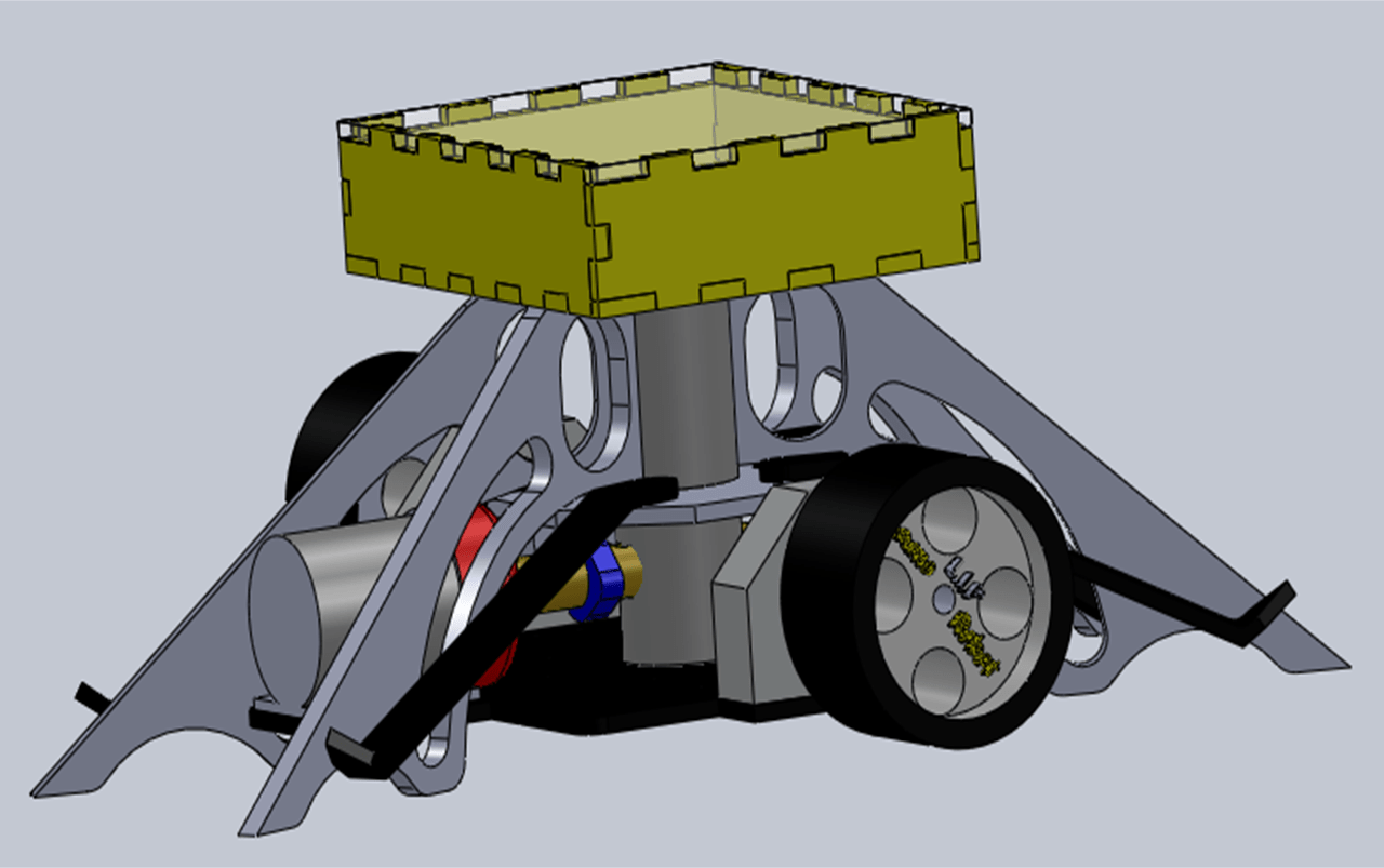 New Sumo Robot Design To Solve Our Hexagonal Shell