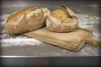 White Bloomer and Artisan Bread