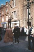 John Muir unveiled