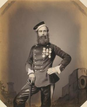 NUMBER 11 - Sargeant John Penn, courtesy Dunbar Castle Lodge