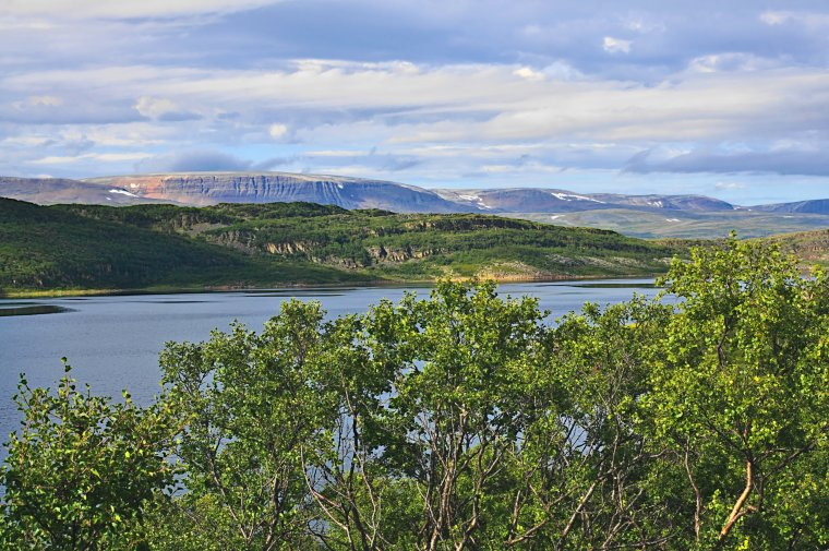 Fellesjorda, route 98 east of Ifjord, Troms og Finnmark, Norway - ...behind every picture, there is a story...