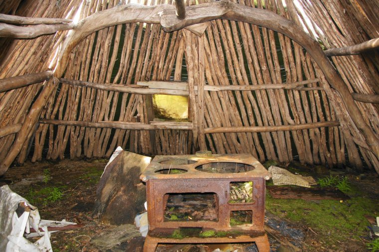 Former Sami Hut, Kvaenangsfjellet, Troms og Finnmark, Norway - ...behind every picture, there is a story...