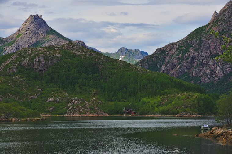 Husvagen, Austvagoya Island, Lofoten Archipelago, Norway - ...behind every picture, there is a story...