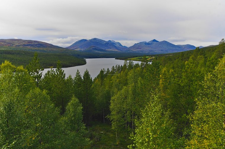 Lake Atnsjoen and Rondane National Park, Innlandet County, Norway - ...behind every picture, there is a story...