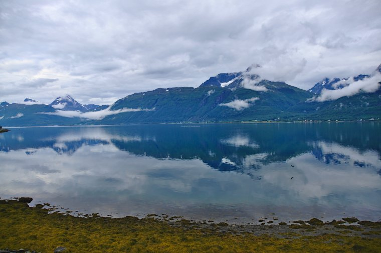 Lyngen Fjord and Lyngen Alps, Troms og Finnmark, Norway - ...behind every picture, there is a story...