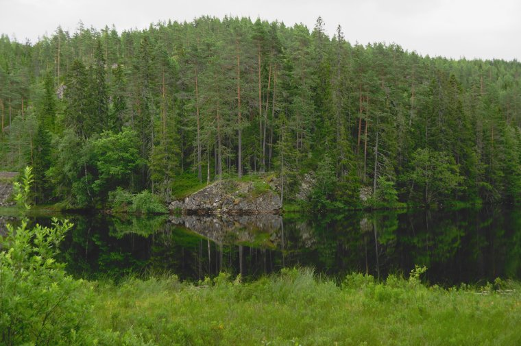 Near Dalsvatn, Telemark, Norway, - ...behind every picture, there is a story...