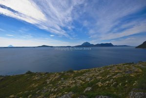 Tha Aldersundet and Island of Aldra, Norland County, Norway