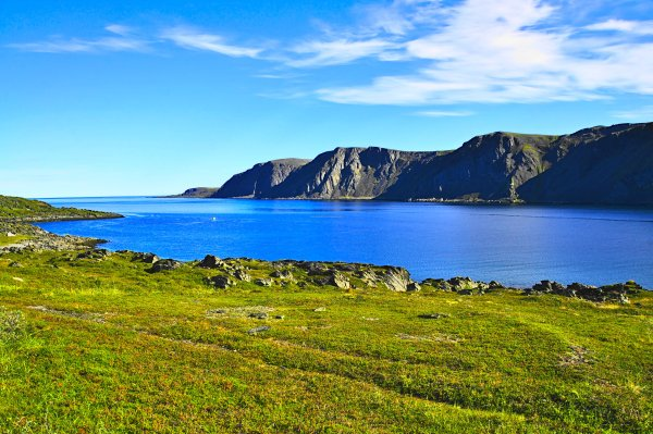 The Barents Sea from Gamvik, Nordkinn Peninsula, Troms og Finnmark, Norway - ...behind every picture, there is a story...