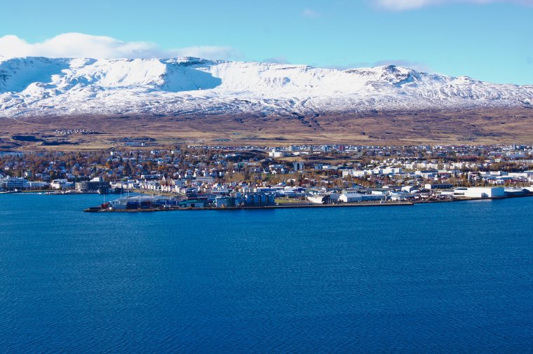 Akureyri and Eyjafjörður Fjord, Iceland - ...behind every picture, there is a story...