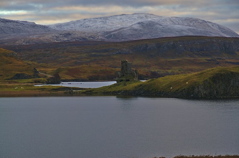 Ardvreck Castle, Loch Assynt, Sutherland, North West Scotland - ...behind every picture, there is a story...