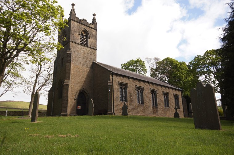Christ Church Lothersdale, Craven, North Yorkshire, England - ...behind every picture, there is a story...