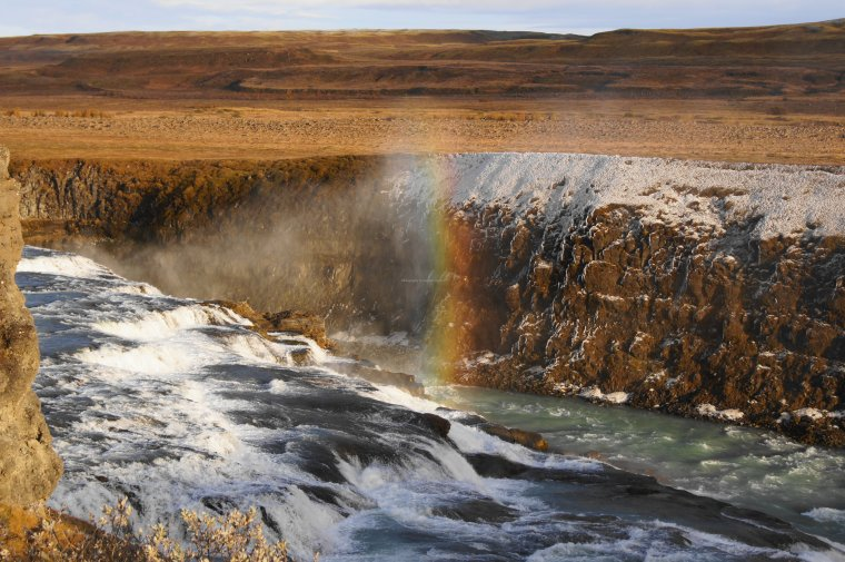Gullfoss (the Golden Falls), Iceland - ...behind every picture, there is a story...