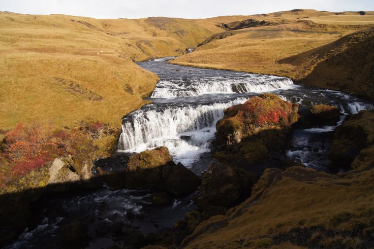 Skogafoss, Iceland - ...behind every picture, there is a story...