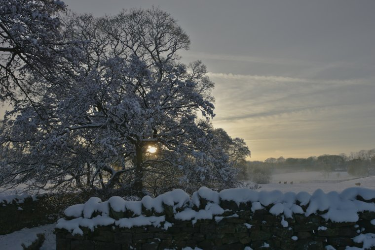 Snowy Winter in Lothersdale, Yorkshire Dales, England - ...behind every picture, there is a story...