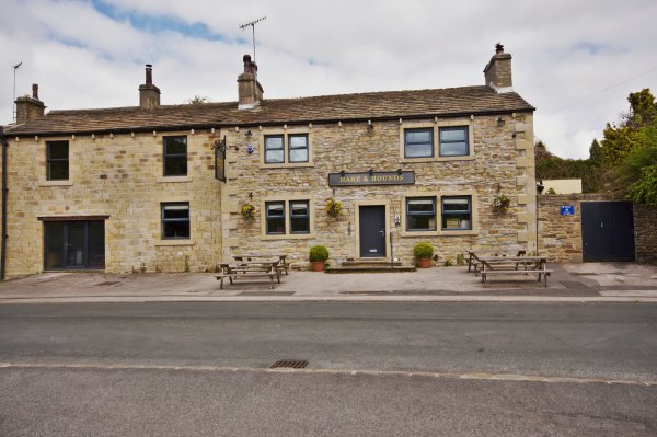 The Hare and Hounds Public House, Dale End, Lothersdale, Craven, North Yorkshire, England