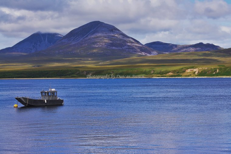 The Paps of Jura, Isle of Jura, Scotland. - ...behind every picture, there is a story...