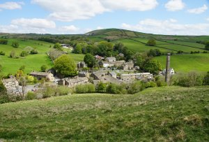 The Pennine Way, Tow Top Bridleway and the Dale End, Lothersdale, Craven, North Yorkshire, England