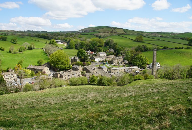The Pennine Way, Tow Top Bridleway and the Dale End, Lothersdale, Craven, North Yorkshire, England - ...behind every picture, there is a story...
