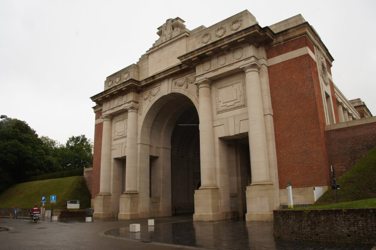 War Memorial Menin Gate, Ypres, Belgium - ...behind every picture, there is a story...