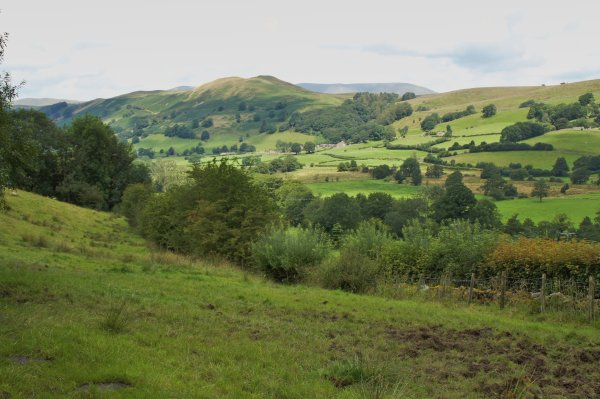 Dentdale, Helms Knott and the Howgill Fells, Cumbria