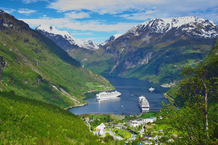 Geiranger and Geirangerfjord, Møre og Romsdal, Norway - ...behind every picture, there is a story...