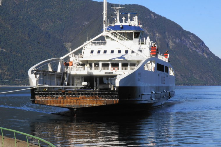 Laerdal to Sogndal ferry that crosses the Sognefjord - ...behind every picture, there is a story...