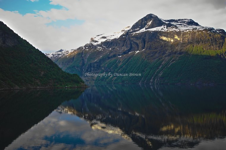 Storfjorden braching to Norddalsfjorden, Møre og Romsdal, Norway - ...behind every picture, there is a story...