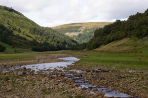 The River Swale, Muker, Swaledale, Richmondshire, North Yorkshire